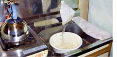 ■WASH工法を使用した洗浄結果