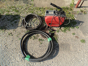 排水管の洗浄・清掃(排水管と排水桝の洗浄)